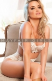 Vally stunning 25 years old escort in Mayfair